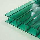 вид поликарбоната - зеленый