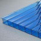 вид поликарбоната - синий