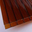 вид поликарбоната - коричневый